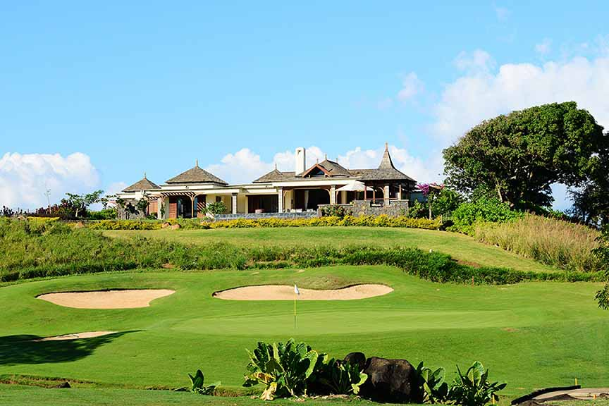 golf et villas