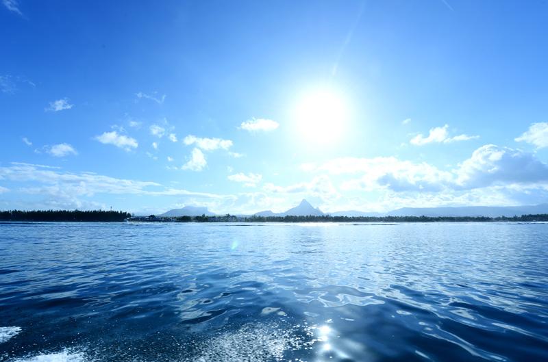 Balade en bateau le matin 1