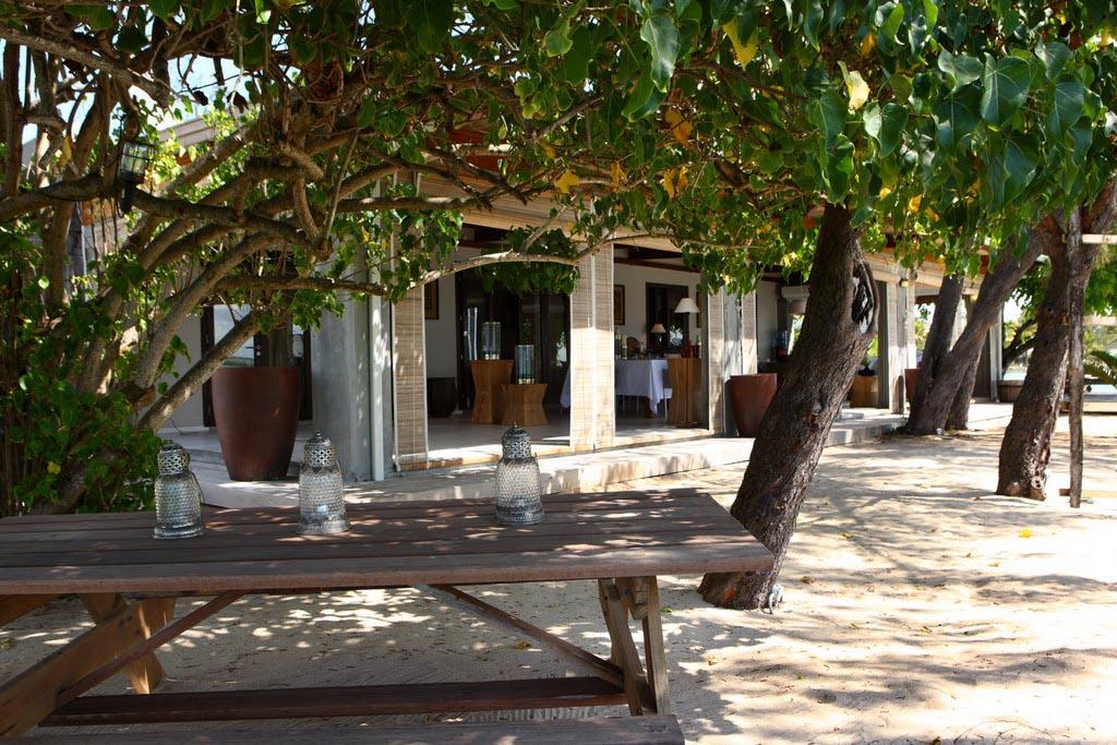 villa et plage site