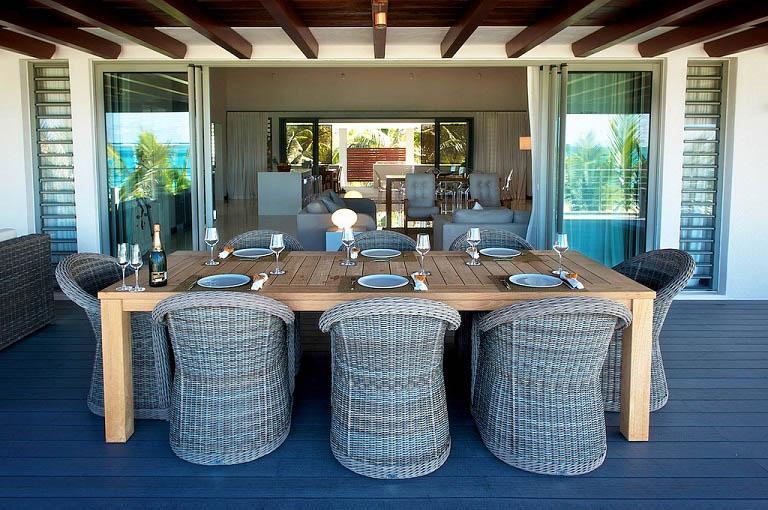 terrasse et lunch