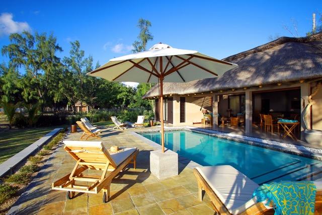 Villa Les salines - vue piscine