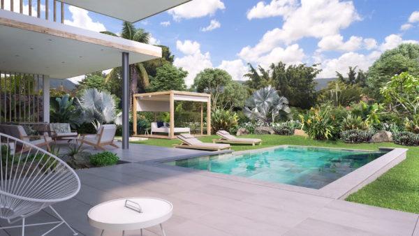 projet IRS Akasha hameau achat villa ile maurice